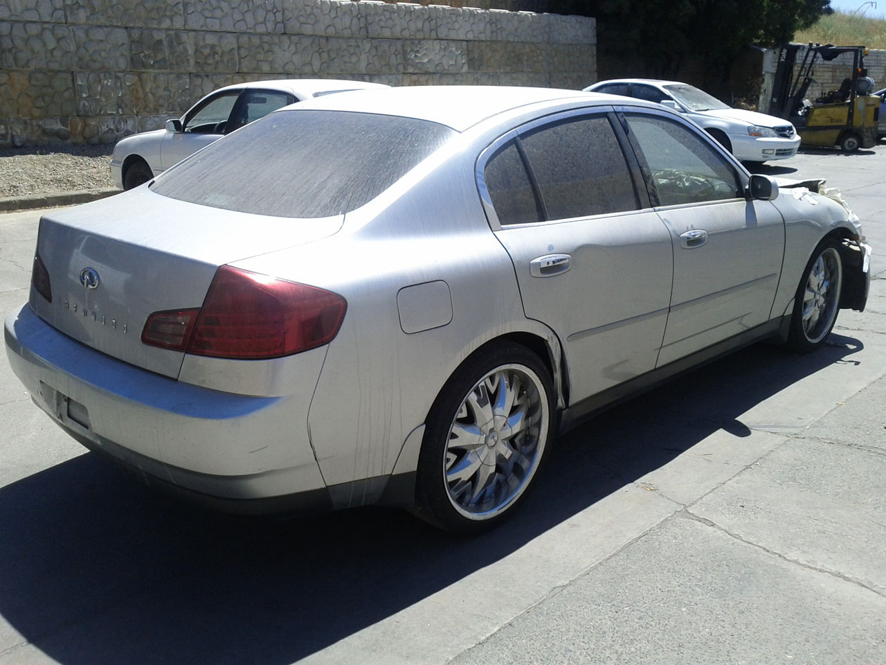 Infiniti g35 sedan 2004 for parts exreme auto parts request parts from this vehicle vanachro Gallery