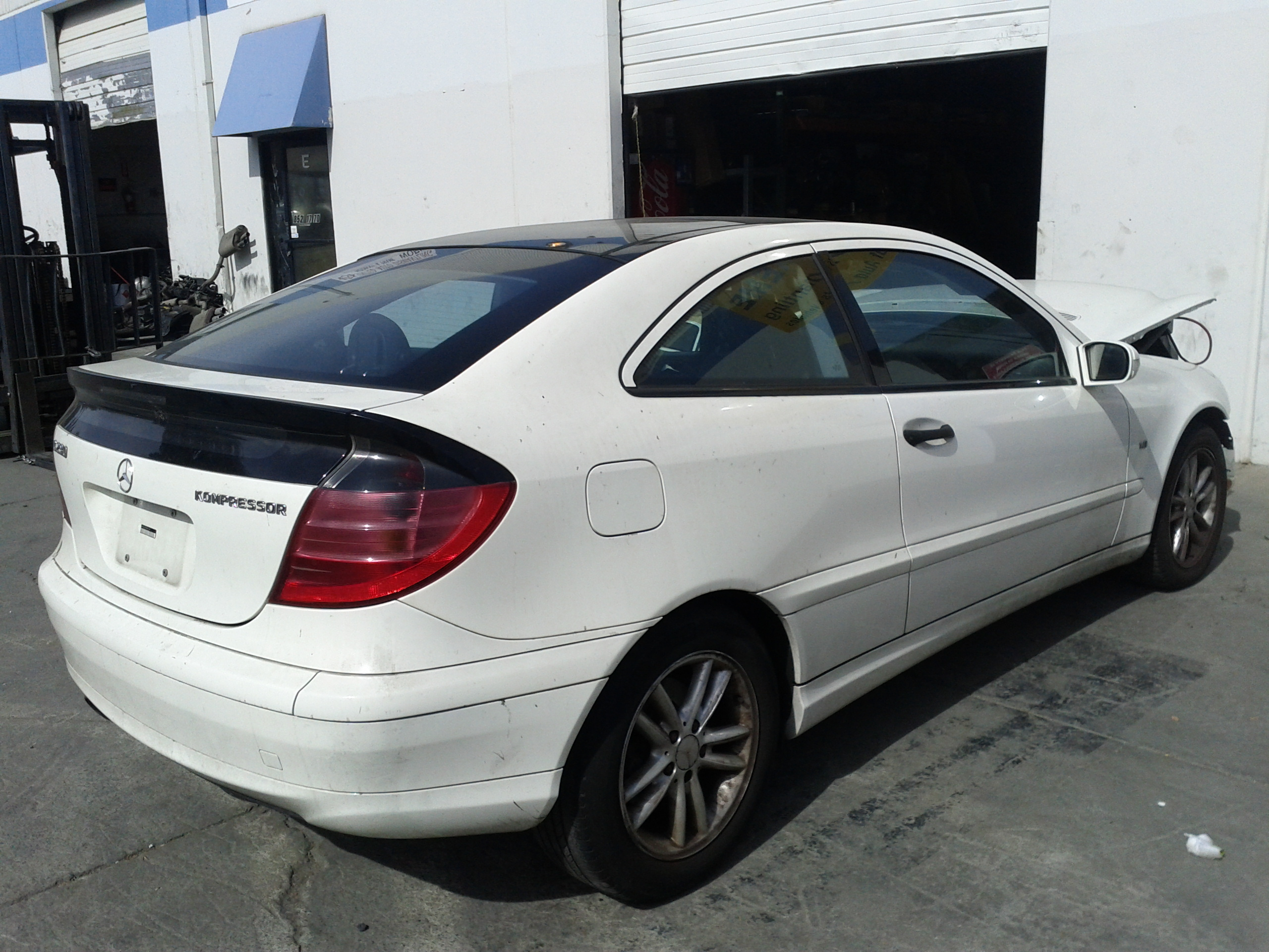 mercedes c230k coupe 2003 for parts