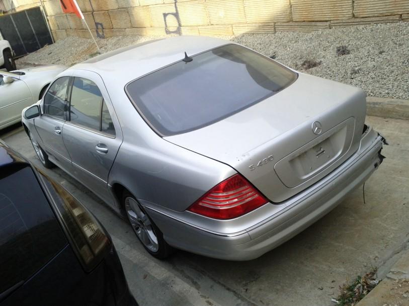 Mercedes s430 sedan 2004 for parts exreme auto parts for 2004 mercedes benz s430 for sale