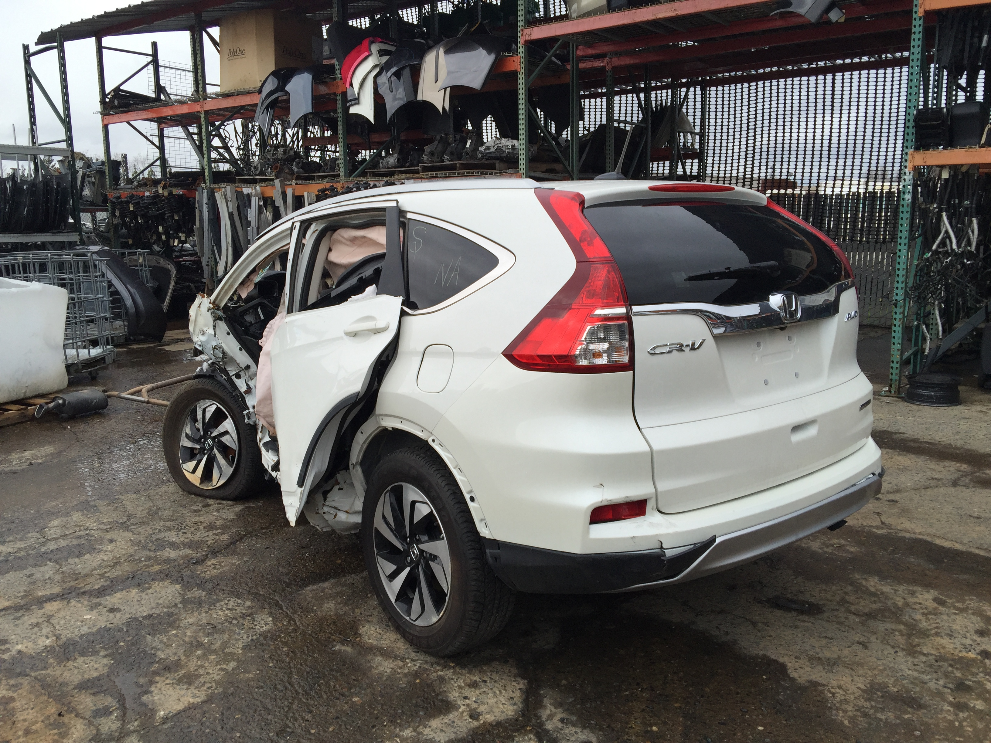 2017 Honda Crv For Sale >> Honda CR-V 2016 Parts For Sale AA0572 - Exreme Auto Parts