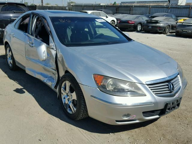 Acura RL Silver Parts Car AA Exreme Auto Parts - 2005 acura rl front grill