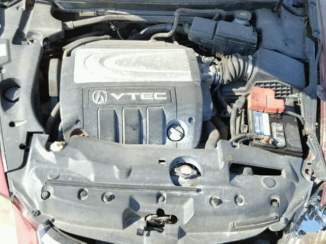 Acura RL Red Parts Car AA Exreme Auto Parts - 2005 acura rl engine