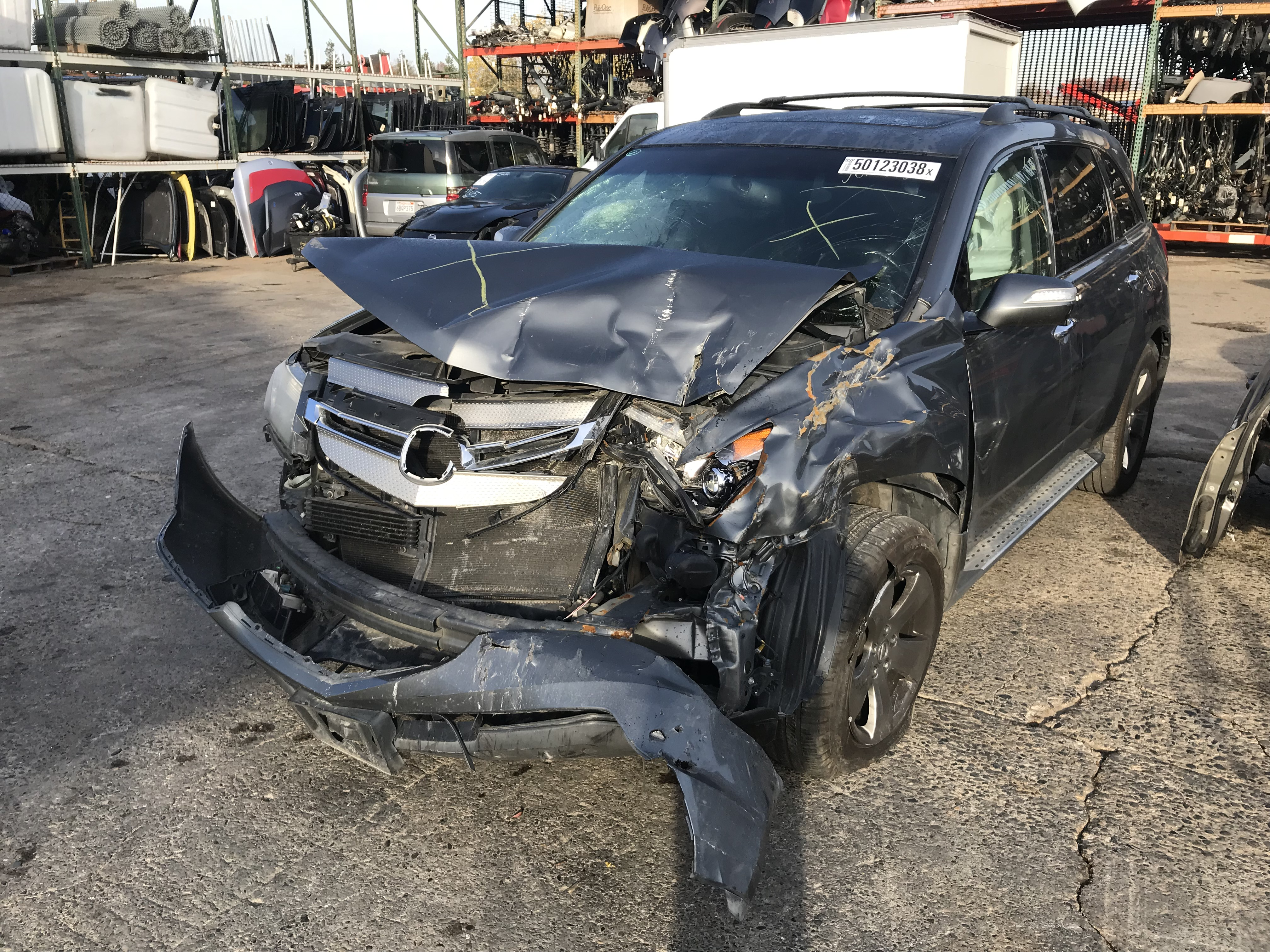 2009 Acura Mdx Parts For Sale Aa0726 Exreme Auto Parts