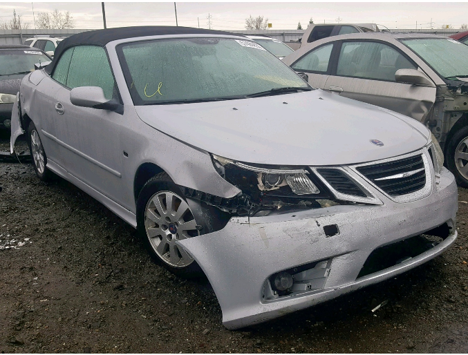 Available Parts From This Vehicle 2008 Saab 9 3